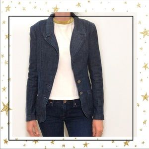 Levis Women's Small two buttons blazer jacket (C3)